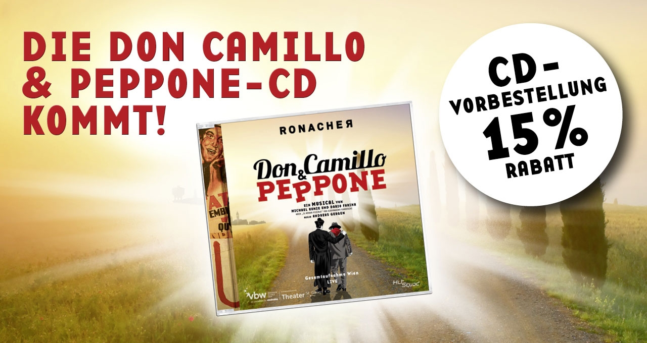 CD DON CAMILLO & PEPPONE © VBW