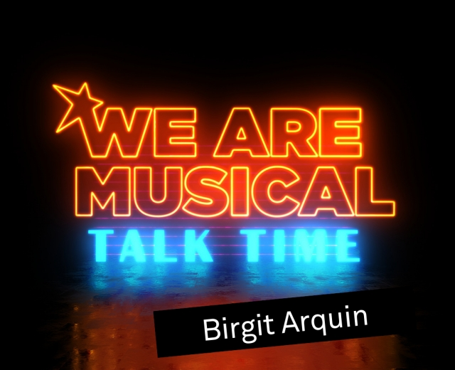 #WeAreMusical: Talk Time Arquin © VBW