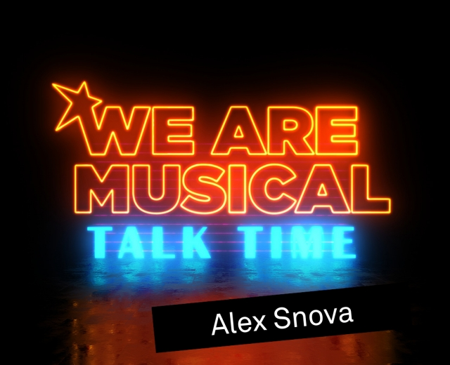 #WeAreMusical: Talk Time Snova © VBW