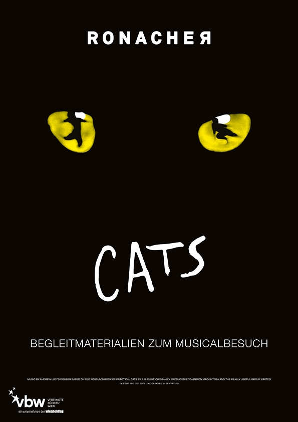 Cats Lehrermappe ©1981 RUG LTD CATS LOGO DESIGNED BY DEWYNTERS